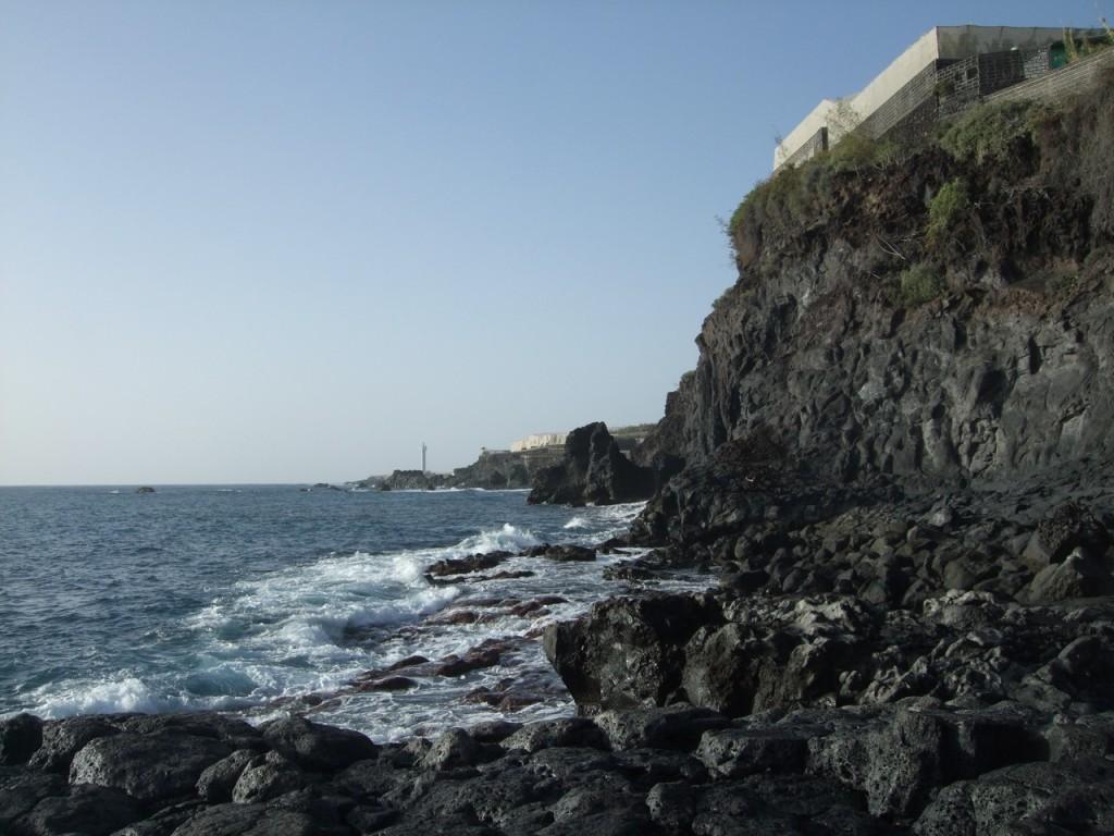 На берегу океана в Пуэрто Наос