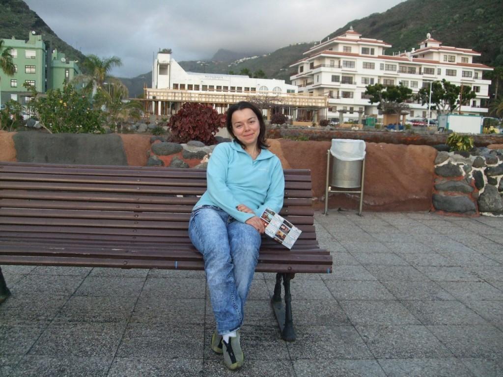 В курортном городке Puerto de Tazacorte