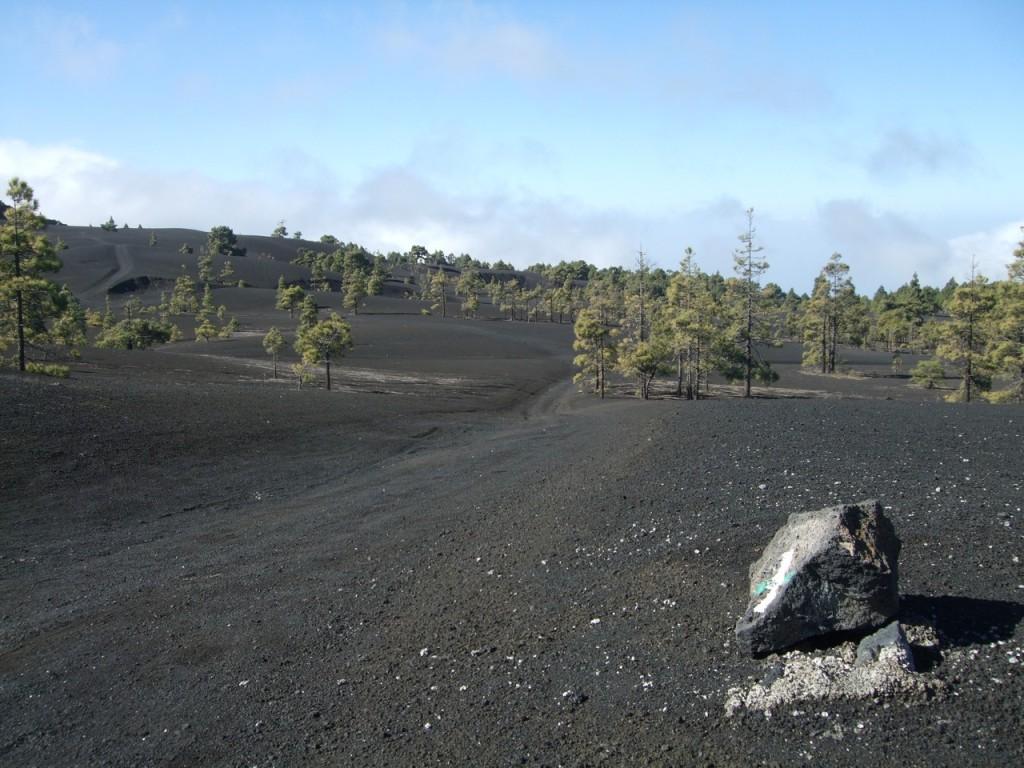 Вулканический пейзаж