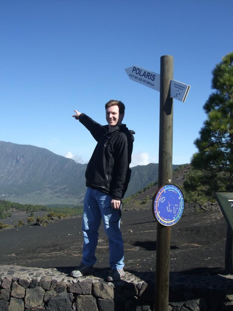 Сколько километров до Пполярной звезды?