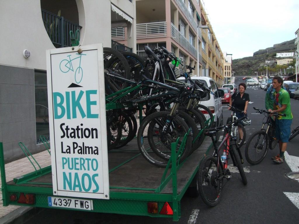 Грузим велосипеды