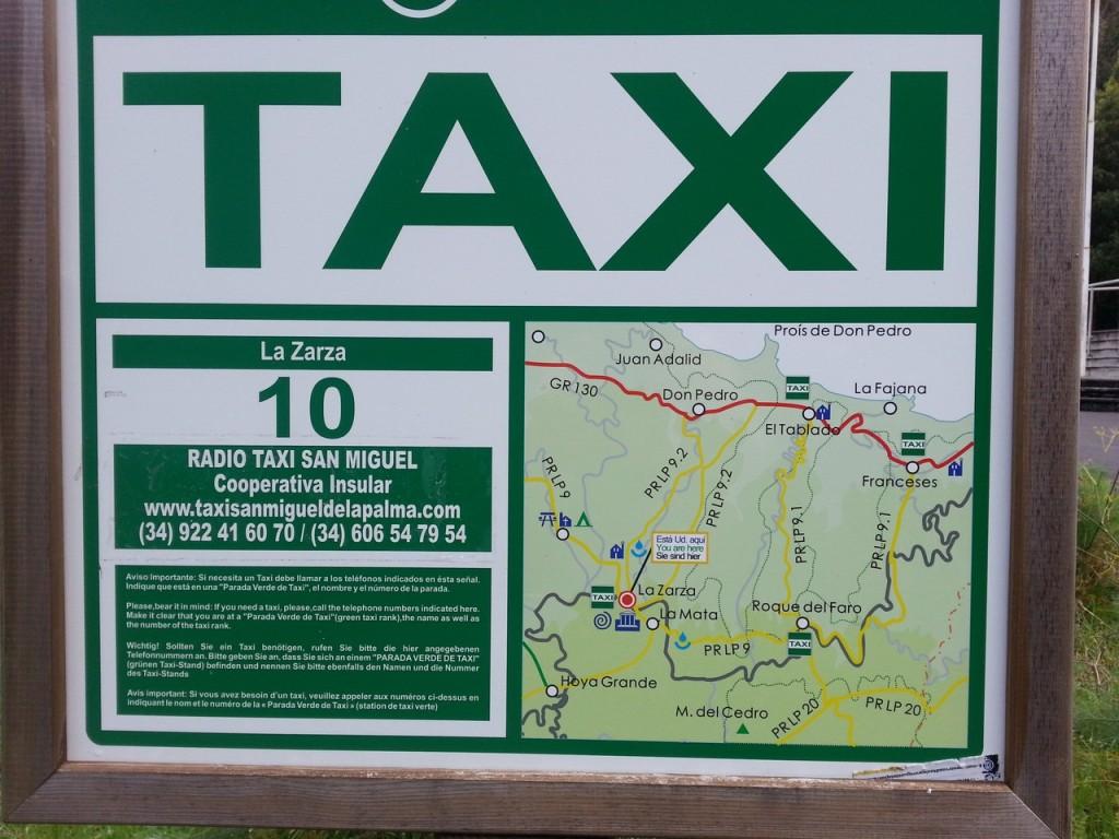 Здесь можно вызвать такси