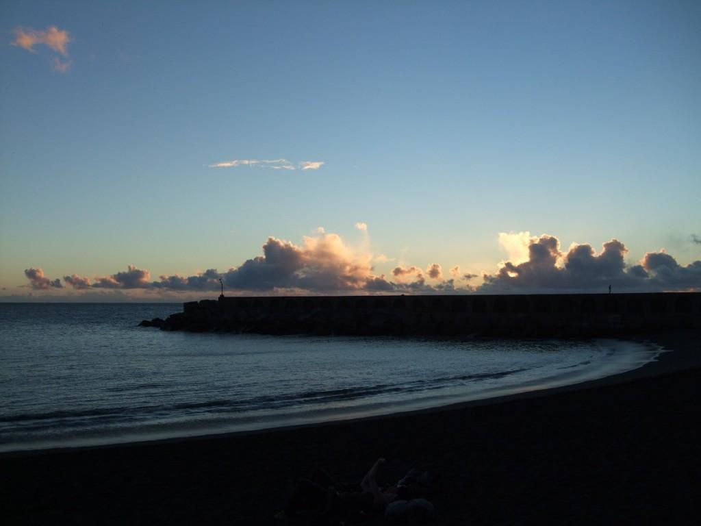 Закат над океаном