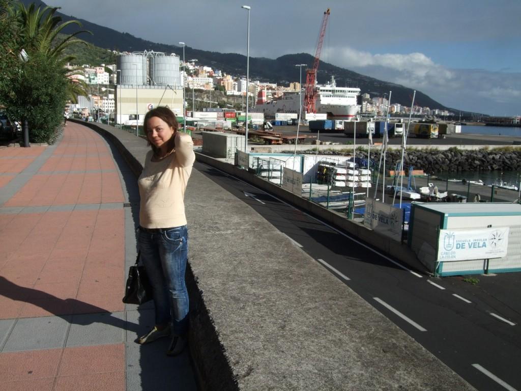 В порту Санта-Крус